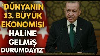 """Cumhurbaşkanı Erdoğan:""""Çıksınlar Resmi Rakamları Yalanlasınlar"""""""