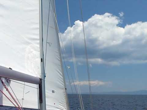 www.charterayacht.gr - Relax sailing at Halkidiki Sithonia - Mount Athos.AVI