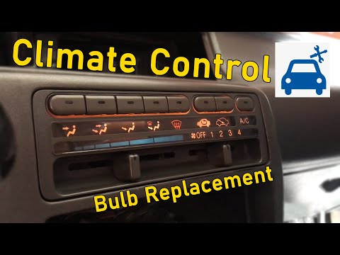 How To Replace Your Climate Control Light Bulbs - Honda Civic EG - Draft Project