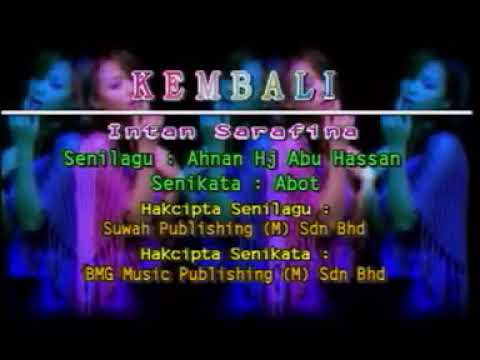 Intan Sarafina Kembali (Music Video)