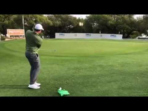 Rory Mcilroy Rare Chipping Practice 2017 Wgc Dell Match Play Youtube