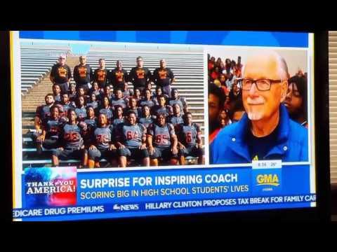 Benton Harbor High School live on GMA