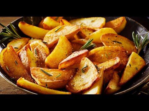 Жаренная картошка особым способом(2 секрета)