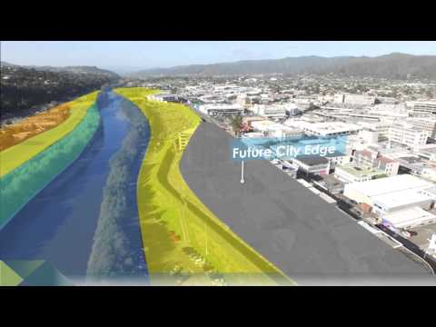 Hutt River City Section Upgrade – flood protection for the CBD