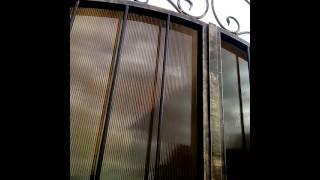 Кованные ворота распашные автоматические(Кованные ворота распашные автоматические, купить ворота, цены на ворота, цены на автоматику для ворот, ковк..., 2014-02-08T20:16:41.000Z)