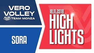 Highlights Vero Volley Monza vs Globo Banca del Frusinate Sora