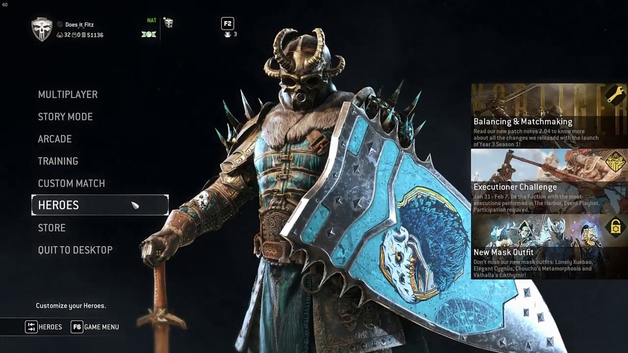 FOR HONOR -Season 9 Day 1-Black Prior Review,