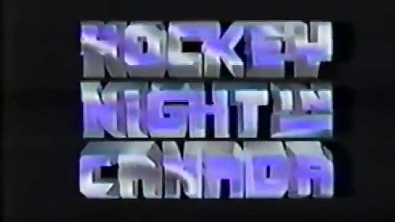 Hockey Night In Canada Hnic Broadcast Intros From 1977 To 2015 Youtube