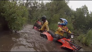 Some deep water for the quads and trikes!  PowerModz