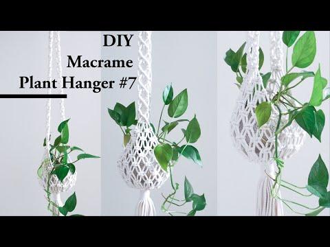 macrame-plant-hanger-#7-supper-easy-for-beginner-diy-tutorial