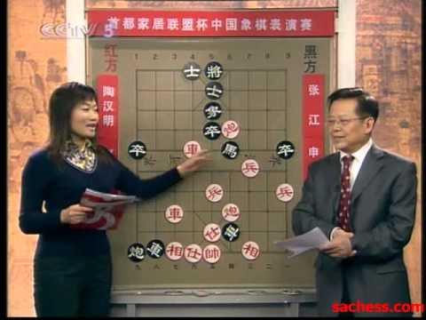 xiangqi(chinese chess) 2007 zhaoguorong vs zhangjiang
