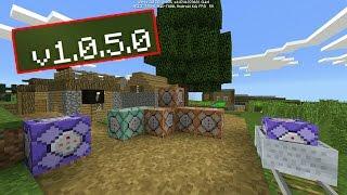 КОМАНДНЫЕ БЛОКИ !! -  ПОДРОБНЫЙ ОБЗОР Minecraft PE 1.0.5