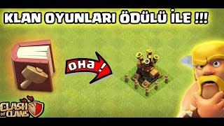 Gambar cover KLAN ÖDÜLLERİNİ TOPLADIM !!! (Büyülü Kitapları Kullandım !) | Clash Of Clans