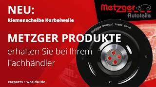 METZGER Riemenscheiben Carparts worldwide