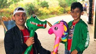 Jason has a fun family day at the zoo vlog