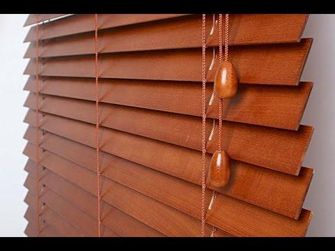 Деревянные жалюзи на окна деревянные своими руками