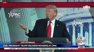 FULL SPEECH: President Donald Trump at CPAC 2018 - 2/22/18