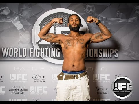 WFC 56| Thomas Webb Vs Christopher Anthony August 13th,2016 at the Belle Of Baton Rouge