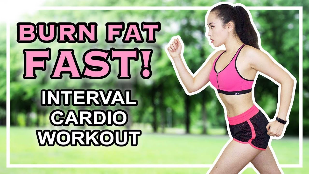 The best cardio workout to burn fat interval cardio treadmill running