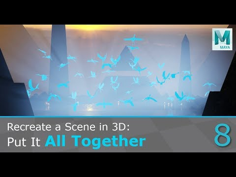 Recreate A Concept Art In 3D: Put It All Together