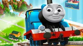 Приключения Паровозика Томаса и его Друзей.Любимые Игры с Томасом.Мультик Игра для Детей