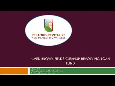 FUNDIT Webinar: Exploring the New Mexico Environment Department's Funding Programs