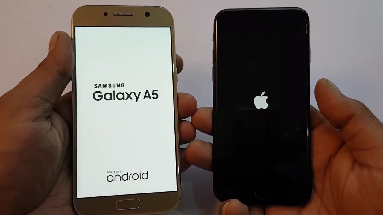 galaxy a5 2017 vs iphone 7 speed test urdu hindi youtube. Black Bedroom Furniture Sets. Home Design Ideas