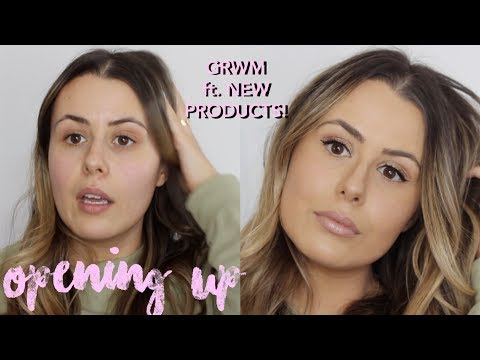 LIFE UPDATE GRWM | NEW PRODUCTS FROM SEPHORA SALE & OPENING UP