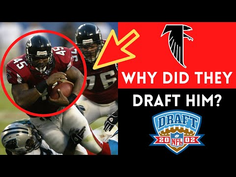 The Most QUESTIONABLE First Round Pick in Atlanta Falcons HISTORY