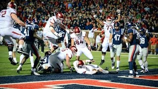 getlinkyoutube.com-Arkansas Uses Lateral, 2-Point Conversion To Upset Ole Miss In OT | CampusInsiders