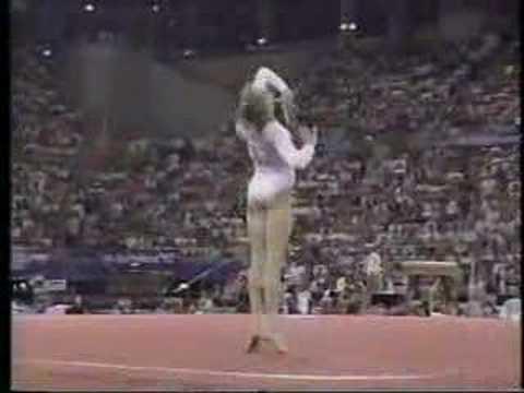 Shannon Miller  1992 Olympics AA  Floor Exercise