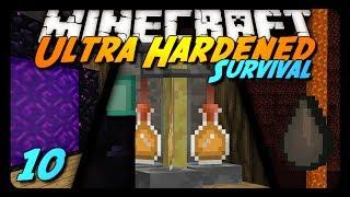 Minecraft: Ultra Hardened Survival LP - 10 - GHAST WAR!