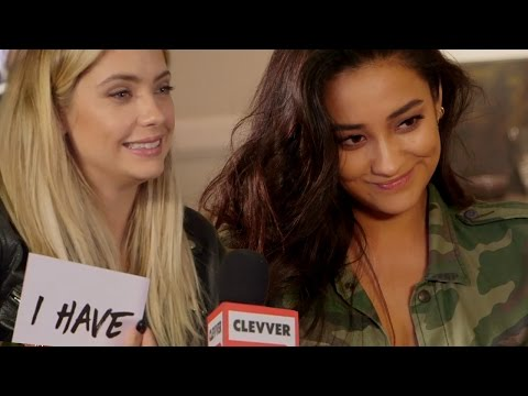 Pretty Little Liars Cast Play NEVER Have I Ever!