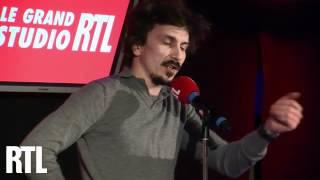 Arnauld Tsamere en direct dans le Grand Studio RTL présenté par Laurent Boyer - RTL - RTL