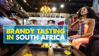 HOW TO DRINK BRANDY PROPERLY | Brandy and Chocolate Tasting - Stellenbosch, South Africa