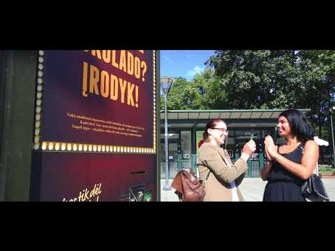 Push the button and get a bar of Pergale chocolate | JCDecaux Lithuania