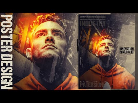 Create A Double Exposure And Light Effects Poster Design - Photoshop Tutorial