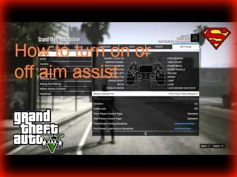 Gta Online How To Turn On Aim Assist Youtube