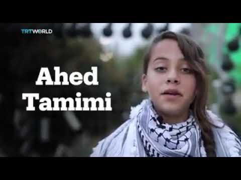 16 year old Palestine girl fight the Israeli military