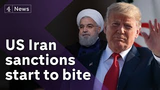 Trump clashes with EU over Iran sanctions