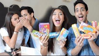 CANDY CHALLENGE mit SAMI! | Shanti Tan