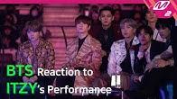 [Reaction Cam] BTS(방탄소년단) Reaction to ITZY(있지) l 2019MAMA x M2