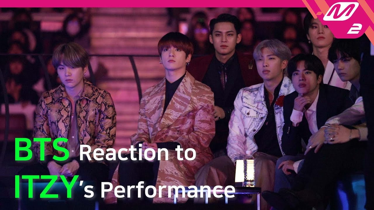 Reaction Cam] BTS(방탄소년단) Reaction to ITZY(있지) l 2019MAMA x M2 - YouTube