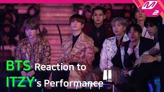 [Reaction Cam] BTS(방탄소년단) Reaction to ITZY(있지) l 2019MAMA x M2