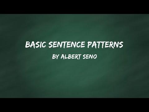 Instructional Video: English Basic Sentence Patterns