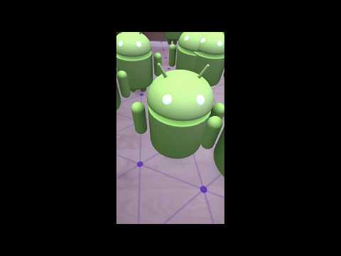 ARCore Getting Started Walkthrough Unity Tutorial
