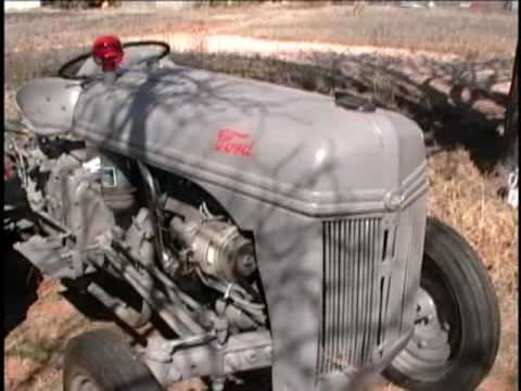 1940 Ford 9n Tractor Oil Change And Demonstration Youtube