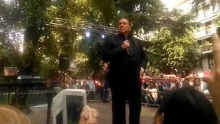 Berlusconi in visita all'Edilnord di Brugherio in festa per i 50 anni: «Riapriremo lo Sporting»