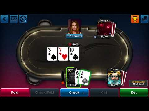 TX Poker Mobile Poker Game Play