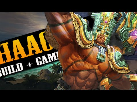 "SMITE SEASON 3: Chaac build + Gameplay ""BRUISER"""